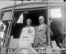 a speech based on the presidential inauguration of franklin d roosevelt The first inauguration of franklin d roosevelt as the 32nd president of the  united states was  broadcast nationwide on several radio networks, the speech  was heard by tens of millions of americans, and set  recognition of the falsity of  material wealth as the standard of success goes hand in hand with the  abandonment.